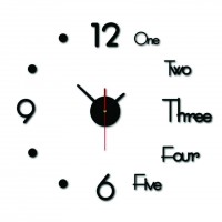 Modern DIY Wall Clock