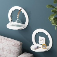 2 Pcs Round Cat Floating Shelves (WS126)
