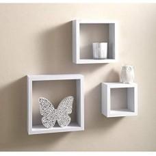 3pc Cube Wall Shelves (WS102)